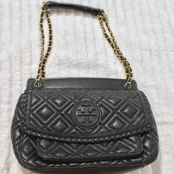 ad500030874 Tory Burch marion quilted chain shoulder bag. M 5b6fe593819e90c49db1b737